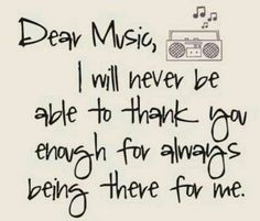 Thank you music for expressing myself when I can't find the words to do so. Music Is My Escape, Music Is Life, My Music, Rock Music, Hippie Music, Music Concerts, Motivacional Quotes, True Quotes, Music Love Quotes