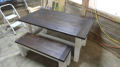 Condo size Farmhouse table
