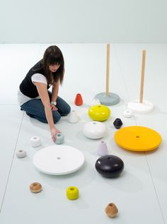 MIA HAMBORG : STACKING TABLE