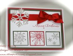 """simple and elegant Christmas card...I'm debating about whether to do cards at all this year - is so, this might be """"the one."""""""