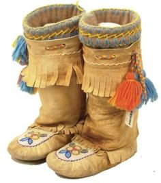 traditional athabascan mukluks - Google Search