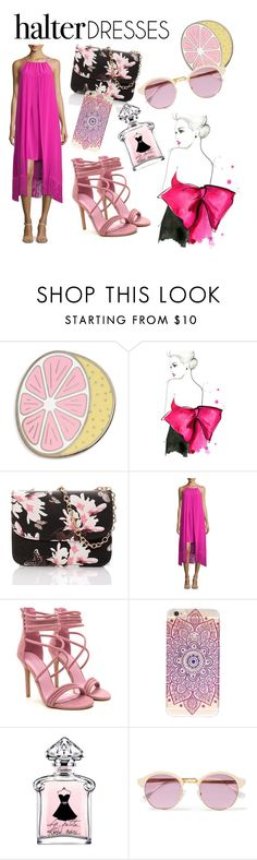 """""""Untitled #37"""" by kebirova ❤ liked on Polyvore featuring Big Bud Press, Trina Turk, Sheriff&Cherry and halterdresses"""