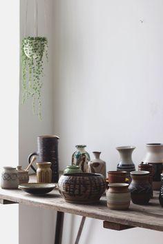 vintage ceramic styl