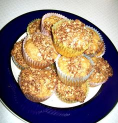 Deceptively Delicious: Applesauce Muffins - made with carrot puree to get some extra veggies in the kiddos!