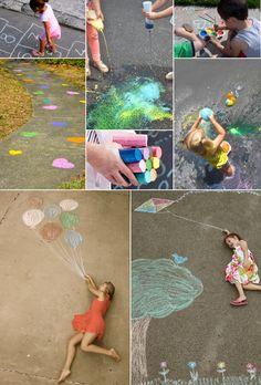 Actividades para niños en Verano | Jugar con Tizas!!!