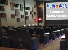 Cheap and Free Summer Movies in Indy | 2014 | Indy with Kids