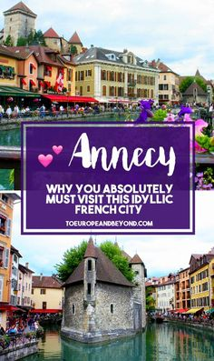I've wholeheartedly fallen in love with this idyllic village, having visited six times over the course of two years, coming up with excuses to drive there whenever possible—but what about Annecy could've possibly made this wanderlust-driven travel expert fall so hard? #travel #France