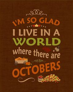 Fall is my favorite season, and Anne Shirley one of my favorite characters. Celebrate Fall with this warm typographic print featuring her