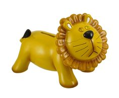 Jewel Eyes Lion Coin Bank | eBay