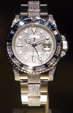 Rolex Bling Bling Watches at Baselworld 2012 from KeepTheTime.com via: