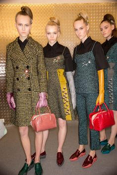 Prada Fall 2015 Ready-to-Wear - Beauty - Gallery - Style.com