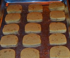 My Grandmother's Ice Box Cookie Recipe Click here to read the story behind the cookies. Ingredients 1 cup brown sugar 1 cup granulated white sugar 1 pound butter 3 eggs 6 cups flour 1 cup cho…
