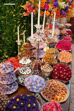 Dessert Table Birthday, Dessert Buffet, Candy Table, Candy Buffet, High Tea Wedding, Havana Nights Party, Cookie Table, Wedding Cake Alternatives, Wedding Shower Decorations