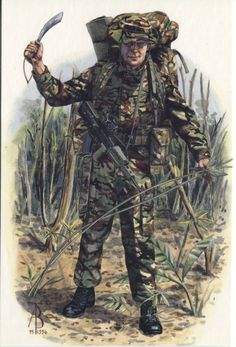Alix Baker Postcard - AB24/1 Private, 1st Battalion, Queens Lancashire Regiment, Exercise Native Trail, Belize Nov-Dec 1994