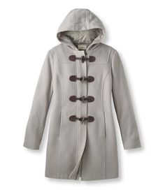 Classic Lambswool Duffel Coat: Casual Jackets | Free Shipping at L.L.Bean