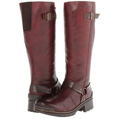 Rieker 74370 Sybille 70 (Medoc) Women's Boots ($195) ❤ liked on Polyvore featuring shoes, boots, knee-high boots, rieker boots, knee high buckle boots, long knee boots, lightweight shoes and side zipper boots