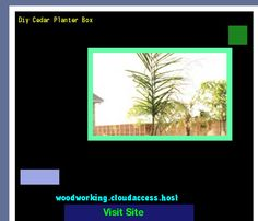 Diy Cedar Planter Box 155538 - Woodworking Plans and Projects!
