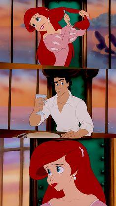 The little mermaid Ariel Disney, Disney Love, Disney Art, Walt Disney, Ariel Wallpaper, Disney Phone Wallpaper, Cartoon Wallpaper, Little Mermaid Movies, Disney Little Mermaids
