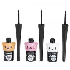 Cute Cartoon Bear 5G Liquid Eyeliner Black