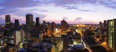 City Centre Panorama, Johannesburg