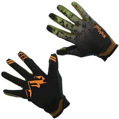 RightOn SIMPL Mountain Bike Gloves, Unisex Cycling Gloves, Full Finger MTB DH Downhill Off Road Gloves with Touch Recognition (Hi-Vis Camo, L) >>> Read more reviews of the product by visiting the link on the image.