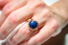 FREE SHIPPING JEWELRY natural Lapis lazuli by Bellamagicaljewelry #Lapislazuli #copper #Wirewrapping #Jewelry #crystalring #Gemstonering #cleansing #stone #Spiritual #magic #Gaia #Earth #Reiki #Chakras #elegant #beautiful #rare #uncommon #crystal #Gifts #Gemstone #natural #organic #Talisman #amulet #meditation #yoga #unique #special #Boho #Hippie #Shaman #Protection #Abundance #purifying #Balance #Sacred #love #MotherEarth  #HealersJewels #Shamanic #peacefulwarrior #Familyoflight