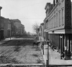 Peachtree Street, Atlanta Georgia pre civil war