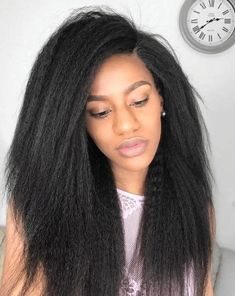 Human Hair Swiss Lace Wigs Wigs For Older Women – loverlywigs Frontal Hairstyles, Afro Hairstyles, Straight Hairstyles, Stylish Hairstyles, Trending Hairstyles, Kinky Straight Wig, Short Straight Hair, Remy Human Hair, Human Hair Wigs