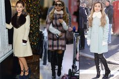 Ariana Grande's Got All the Winter Coat Inspiration You Could Possibly Need – Winter Ariana Grande Outfits, Ariana Grande Pictures, Celebrity Outfits, Celebrity Style, Fall Winter Outfits, Winter Fashion, Winter Wardrobe, Star Fashion, Winter Coat