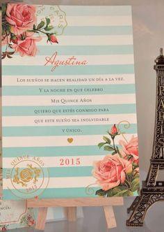 tarjeta de 15 vintage Paris