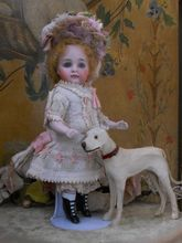 ~~~ Darling All Bisque Doll with Happy Face ~~~