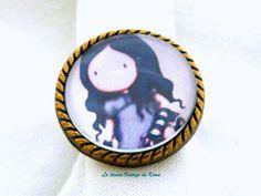 Anillo muñeca Gorjuss REF.12 de La Tienda Vintage de Kima por DaWanda.com