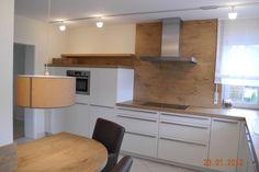Küchenschrank weiß hoch  Rückwand für eine weisse Küche, eine Küchenrückwand aus HPL ...