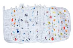 LUXEHOME 10pack Premium Reusable Wipes Muslin Cotton Square Baby Bath Towels 12x12 Inches >>> Want to know more, click on the image.-It is an affiliate link to Amazon.