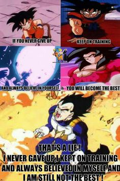 Yeah but Goku's will to win is higher too.