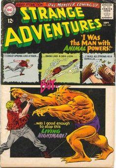 Strange Adventures (Volume) - Comic Vine