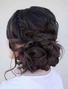 Ancient greek goddess hairstyles for long hair, splendid hairstyle for a bridesmaid