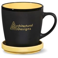 Not just your average mug, this imprinted coffee cup works double time!