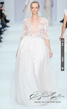 i want to float around in elie saab couture | CHECK OUT MORE IDEAS AT WEDDINGPINS.NET | #weddingfashion