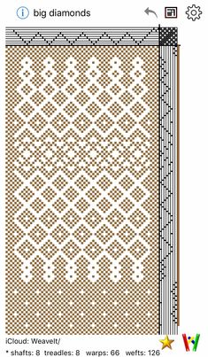 Weaving Designs, Weaving Projects, Weaving Patterns, Loom Weaving, Hand Weaving, Knitting Stitches, Knitting Patterns, Willow Weaving, Modern Crafts