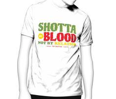 """Shottas by Blood Tshirt inspired by the Jamaican Movie – """"Shottas"""""""