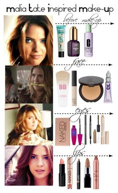 """Teen Wolf - Malia Tate Inspired Make-Up"" by staystronng ❤ liked on Polyvore"