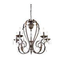 Home Decorators Collection Madison 5-Light Bronze Chandelier-BSZ9115A-2 at The Home Depot