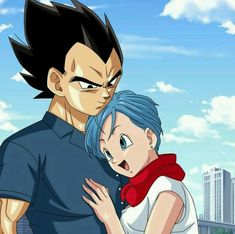 Bulma and Vegeta (Dragon Ball Super) (c) Toei Animation, Funimation & Sony Pictures Television Dragon Ball Z, Kuroko, Boruto, Sailor Moon, Dragon Super, Goku And Vegeta, Hero Movie, Anime Nerd, Cartoon Drawings
