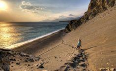 Agios Pavlos, island of Crete in Greece Crete Island, Greece Islands, Beach Walk, Beach Trip, Rethymnon Crete, Greece Tourism, Secluded Beach, Crete Greece, Places To See