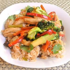 Mom, What's For Dinner?: Quick Easy Chicken Stir Fry