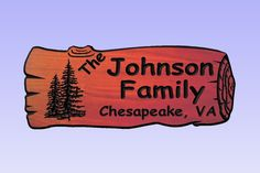 Personalized Custom Carved Red Wood Sign -Redwood Log-Rustic Plaque Home Decor #RusticPrimitive