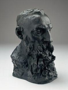 Camille Claudel (1864-1943) Buste de Rodin, 1886-1892 Bronze H.40;L.24,5;P.28cm Roubaix, Musée d'Art et d'Industrie André Diligent-La Piscine Dépôt du Centre national des arts plastiques en 1994