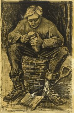 Workman. Vincent van Gogh    Van Gogh Museum, Amsterdam.