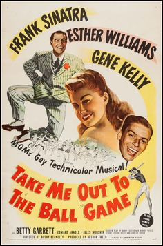Movie Posters:Musical, Take Me Out to the Ball Game (MGM, 1949). One Shee... Image #1